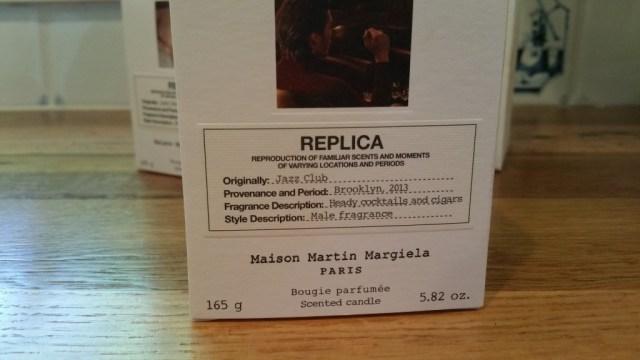 Replica Jazz Club candle