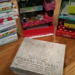 Ideas for Reusing, Repurposing, and Upcycling All Those Empty Birchboxes, Glossyboxes, Allure Beauty Boxes, Target Beauty Boxes, and so on!