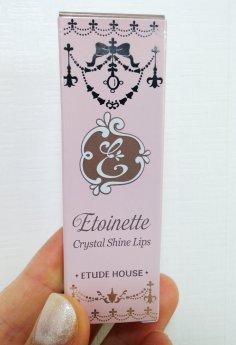 ETUDE Etoinette Crystal Shine Lips