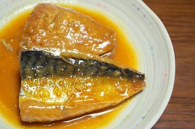 サバの味噌煮で血液サラサラ