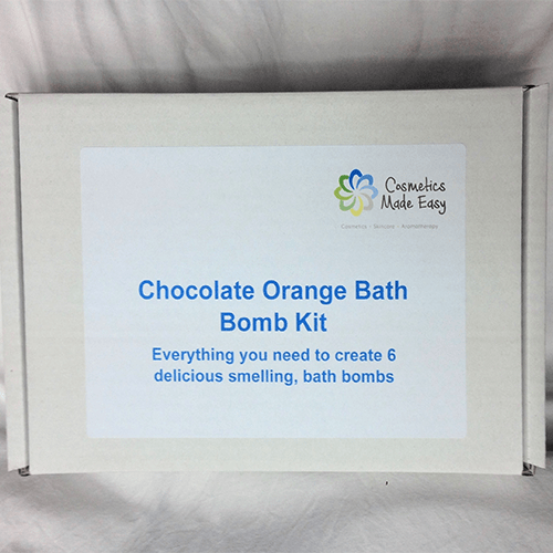 Chocolate Orange Bath Bomb Making Kit