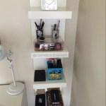 Makeup Storage And Organization Ikea Lack Shelf Unit Malm Dressing Table Cosmeticsobsession