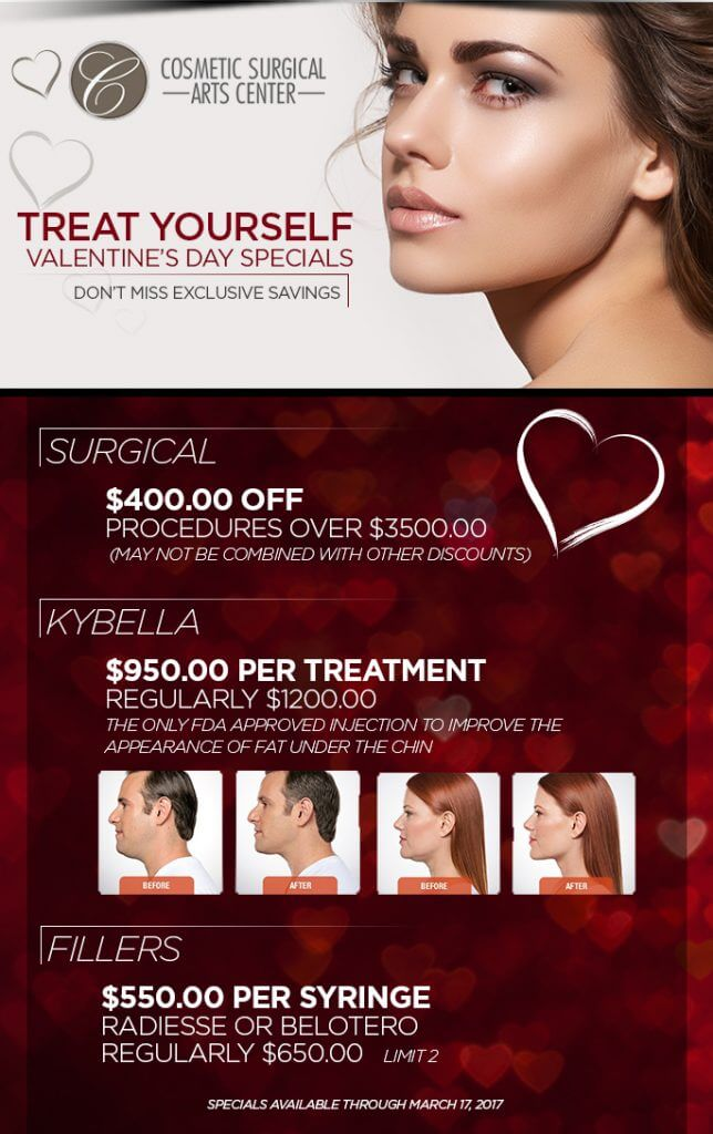Treat Yourself! Valentine's Day Specials