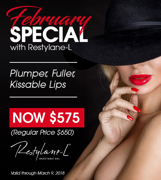 February Special with Restylane-L