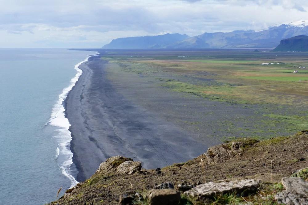 Dyrholaey & Reynisfjara sea black beach Iceland