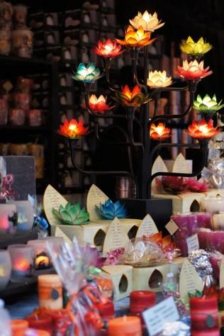 Weihnachtsmarkt Christmas market Germany candles