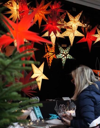 Weihnachtsmarkt Christmas market Germany stars