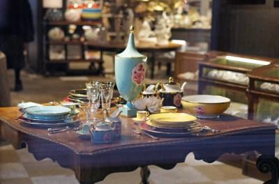 Milano interior design festive table праздничный стол
