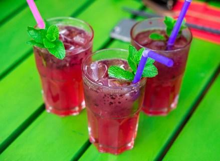 Summer drinks lemonade Maison Dang Restaurant Berlin