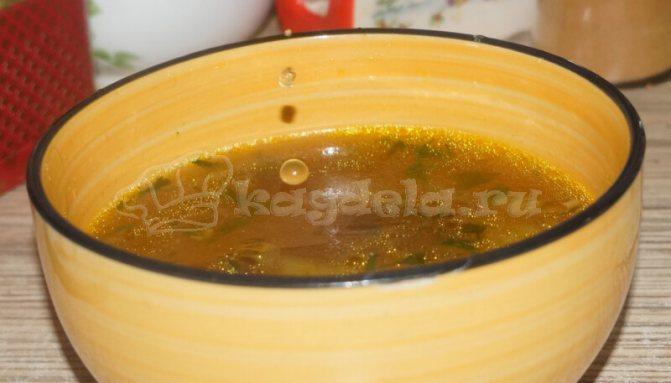 Грибной суп из сухих грибов — самый вкусный рецепт как приготовить суп с опятами и картошкой