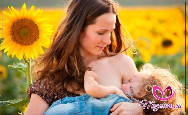 женщина и грудной малыш