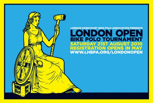 London Open 2010 Design & Concept Wayne Peach, Illustration by Dave Cole