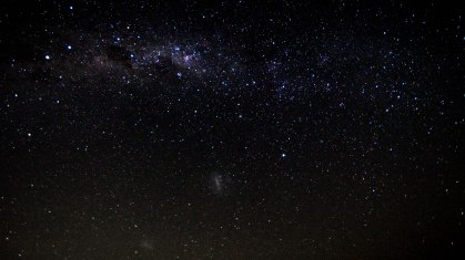 2012-03-30 Milky Way, Southern Cross and the Magellanic Clouds
