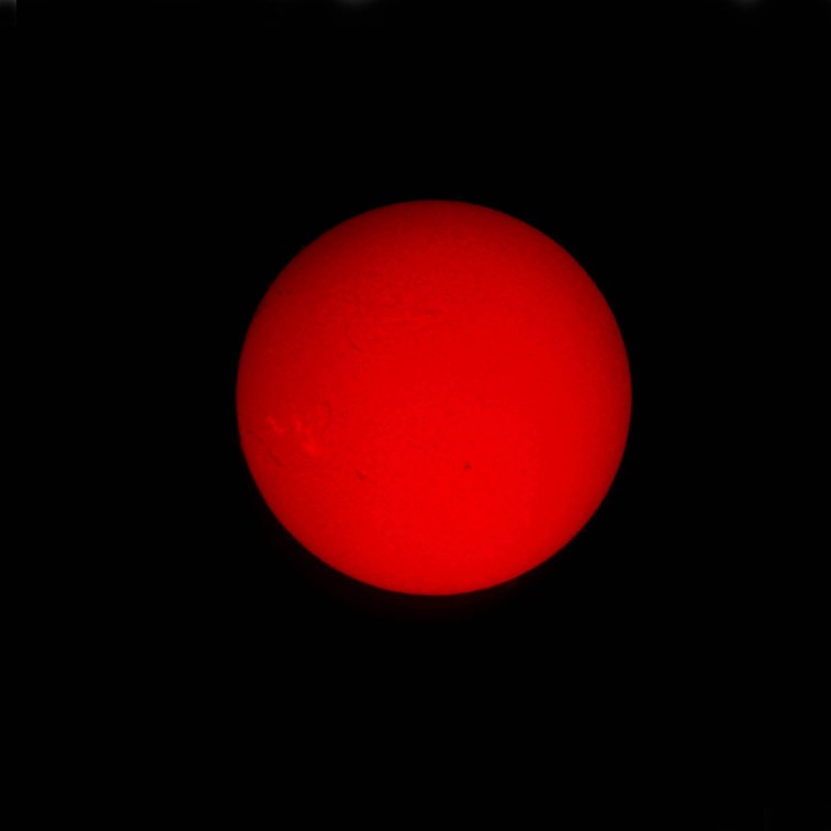 2012-05-03 Solar Disc (Lunt Solar Scope).