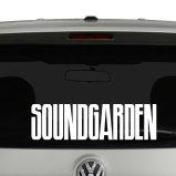 Soundgarden Logo Vinyl Decal