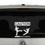 Humorous Vinyl Decals