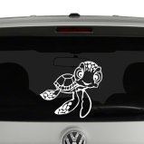 Squirt the Sea Turtle Vinyl Decal Sticker
