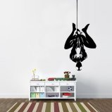 Hanging Spiderman Vinyl Wall Decal