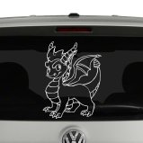 Spyro the Dragon Skylander Vinyl Decal Sticker