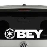 Empire Obey Star Wars Inspired Vinyl Decal Sticker