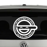 Ghost in the Shell Laughing Man Vinyl Decal Sticker