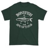 Bonefish Hunter Fishermans Fishing Lovers T-Shirt