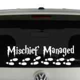Mischief Managed Harry Potter Inspired Vinyl Decal Sticker
