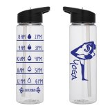 Water Tracker - Yoga Pose Water Bottle 24 Oz Yoga