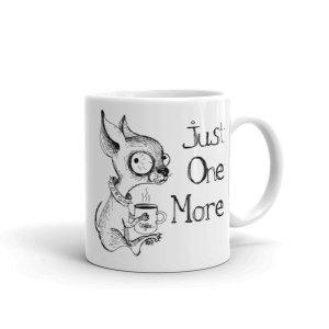 Just One More Caffeinated Coffee Chihuahua Mug