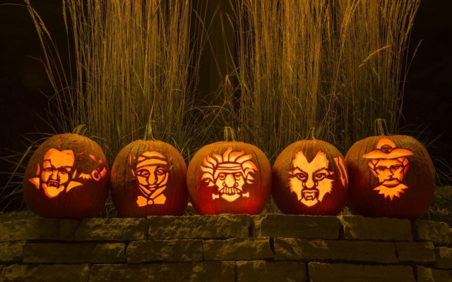 Physicist pumpkins