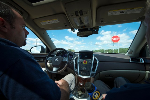 Image: Driverless car