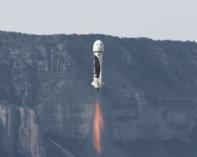 Image: New Shepard launch
