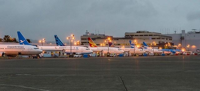Image: Boeing jets