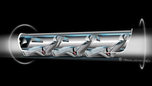 Image: Hyperloop cutaway