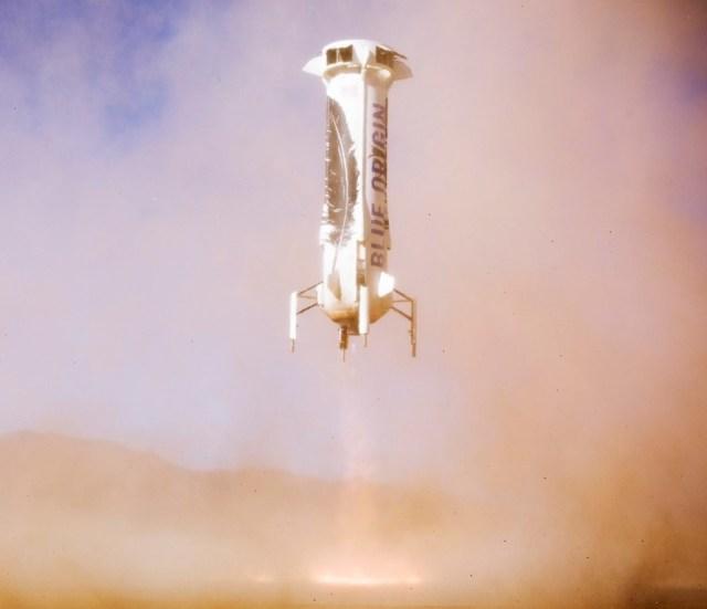 Image: Blue Origin landing