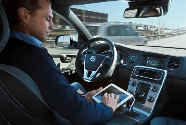 Image: Self-driving car