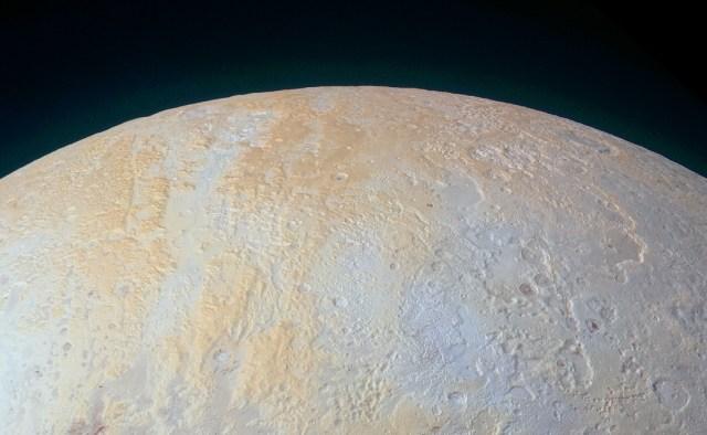 Image: Pluto north polar region