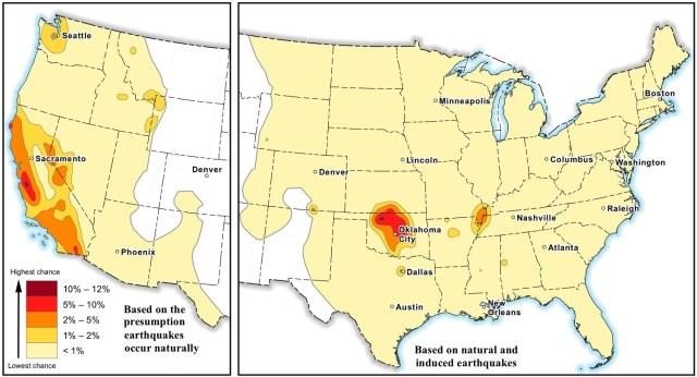 Image: Earthquake map