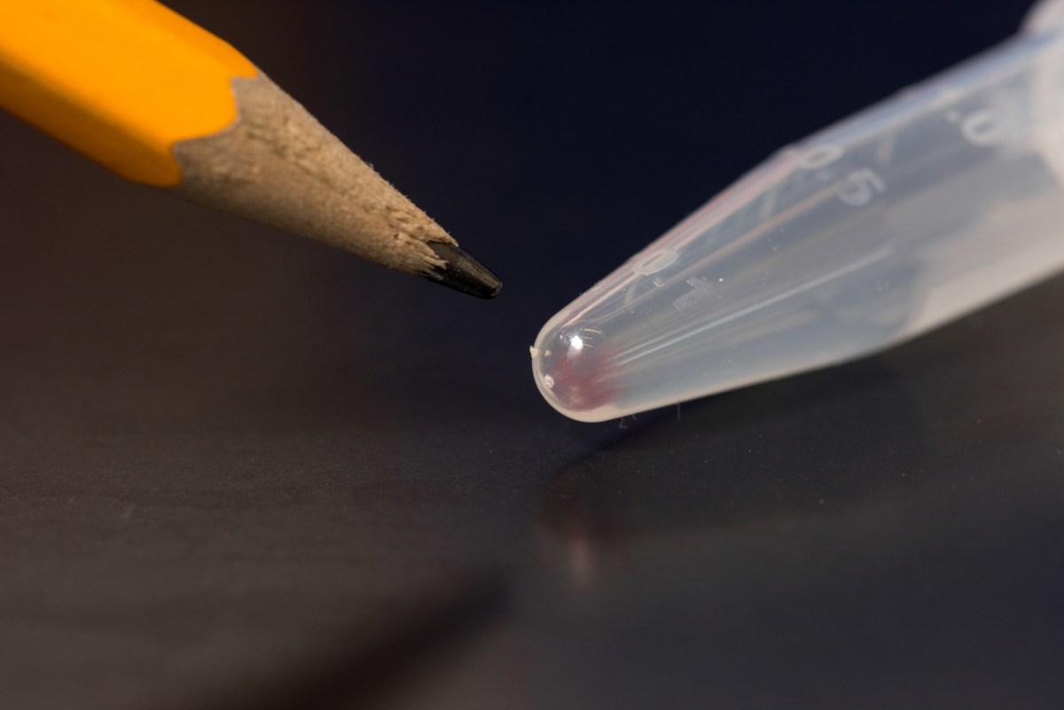 Image: DNA in test tube