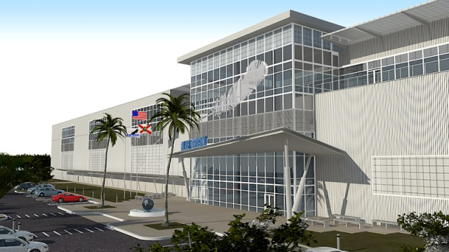 Image: Blue Origin Florida factory