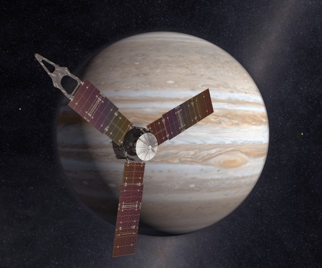 Image: Juno at Jupiter