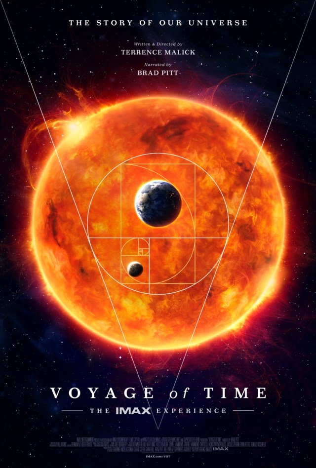 Image: 'Voyage of Time' poster