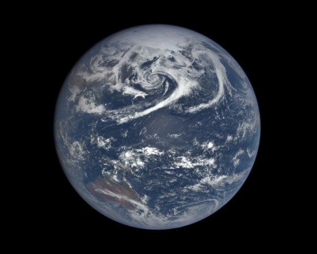 DSCOVR view of Earth