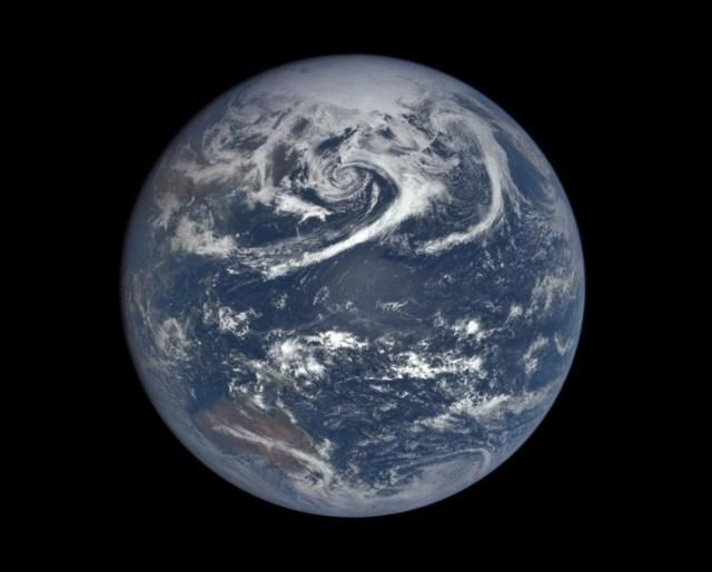 DSCOVR view of Earth