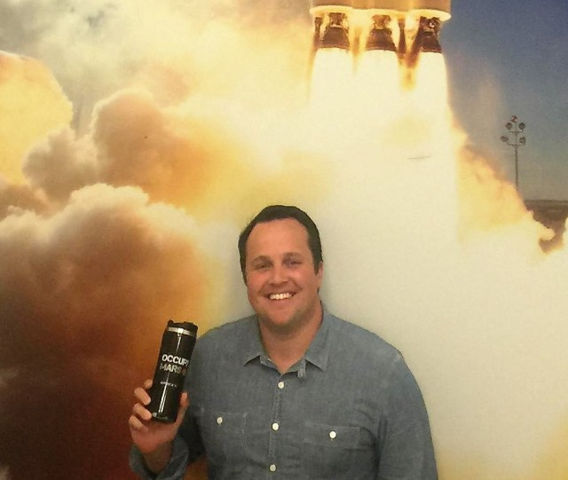 Image: Brian Bjelde at SpaceX