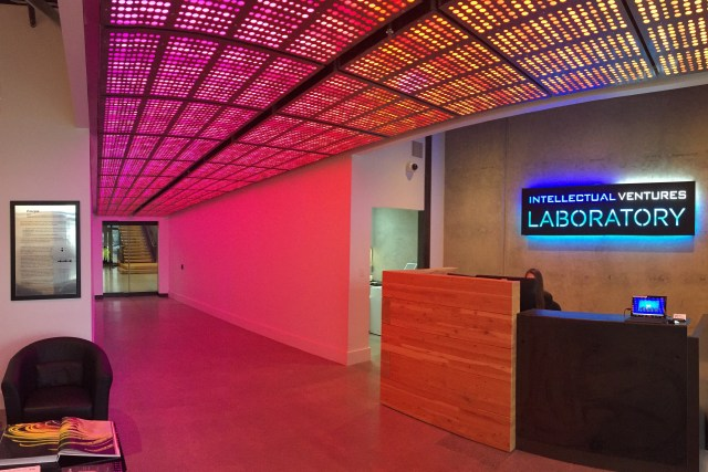 Image: Intellectual Ventures lab lobby