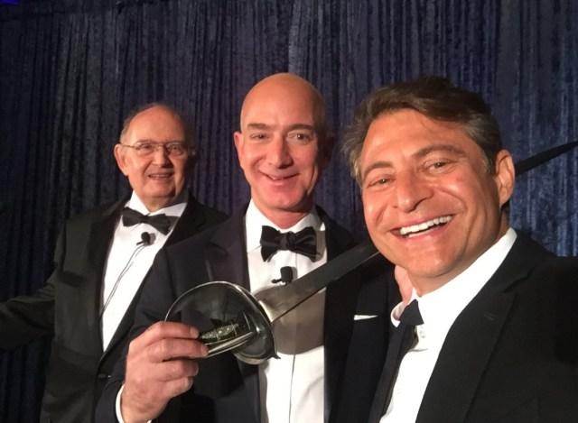 Dula, Bezos and Diamandis