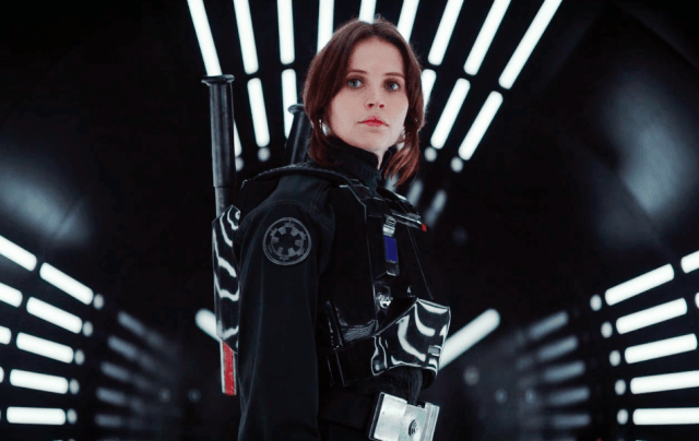 "Felicity Jones in ""Rogue One"""
