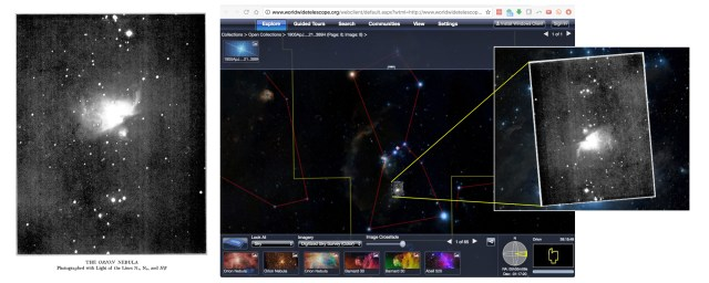 Astronomy Rewind at work