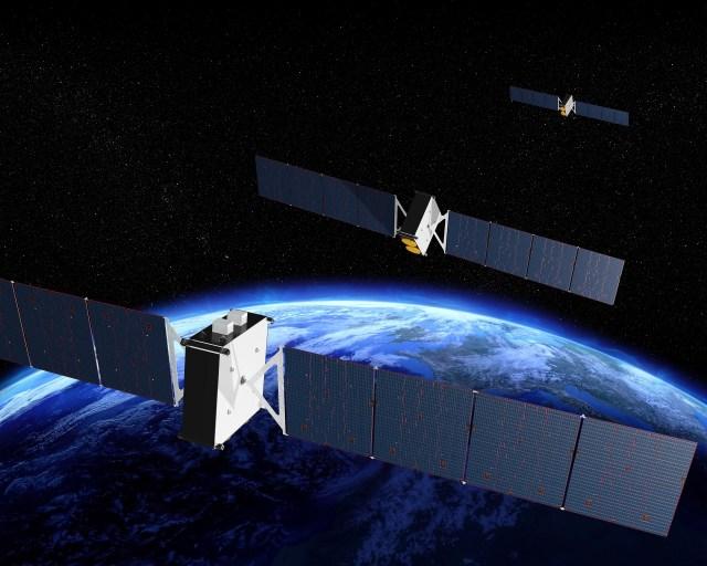 Boeing-built O3B mPower satellits